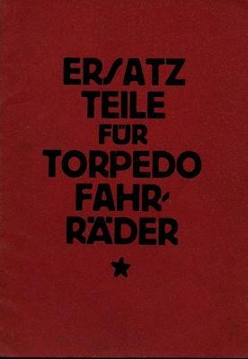 Torpedo Fahrrad Ersatzteilliste 12.1926