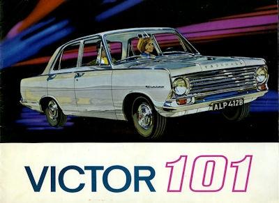 Vauxhall Victor 101 Prospekt ca. 1966