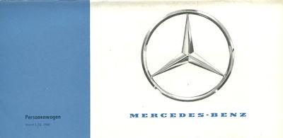 Mercedes-Benz Programm 12.1960