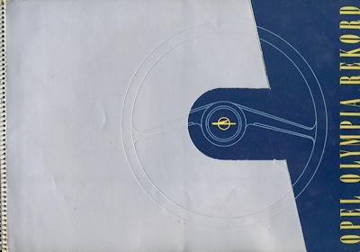 Opel Olympia Rekord Prospekt ca. 1954