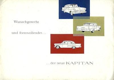 Opel Kapitän Prospekt 8.1959