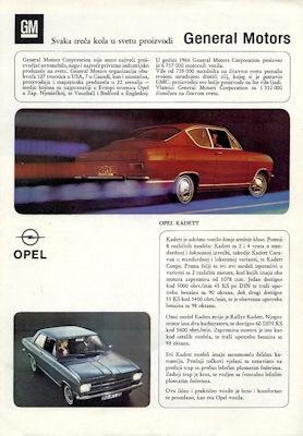 Opel Programm 4.1967 kr
