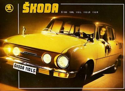 Skoda 100 / 110 Programm ca. 1971 hun