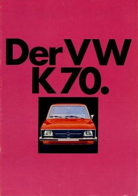 VW K 70 Prospekt 1.1972