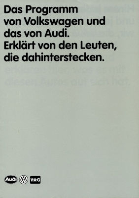 VW Programm 8.1983