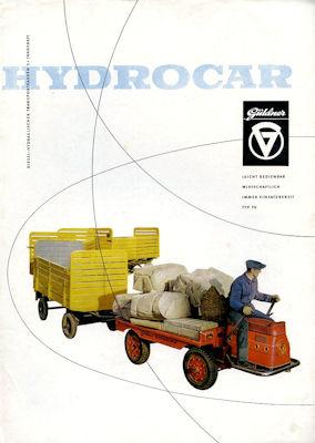 Güldner Hydrocar Prospekt 1960er Jahre