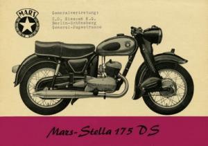 Mars Stella 175 DS Prospekt ca. 1955