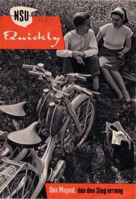NSU Quickly Prospekt 7.1955