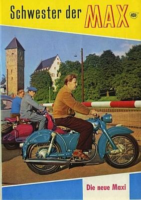 NSU Maxi Prospekt 10.1956