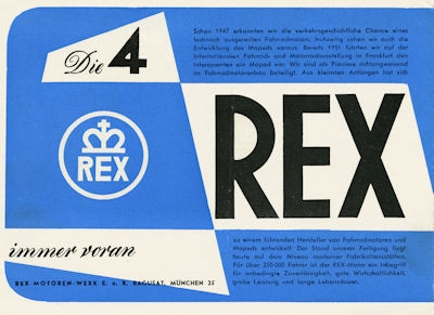Rex Programm 1954