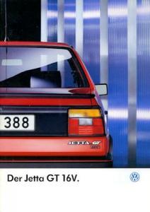 VW Jetta 2 GT 16V Prospekt 4.1987