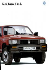 VW Taro 4x4 Prospekt 12.1996