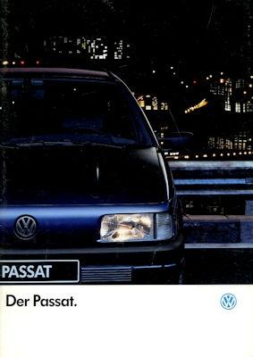 VW Passat B 3 Prospekt 8.1991