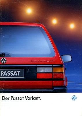 VW Passat B 3 Variant Prospekt 1.1991