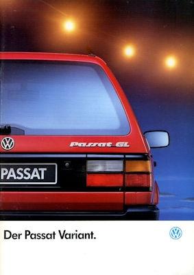 VW Passat B 3 Variant Prospekt 1.1993