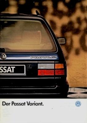 VW Passat B 3 Variant Prospekt 1.1990