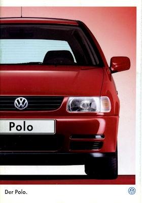 VW Polo 3 Prospekt 10.1996