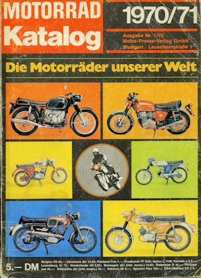 Motorrad Katalog 1970/71