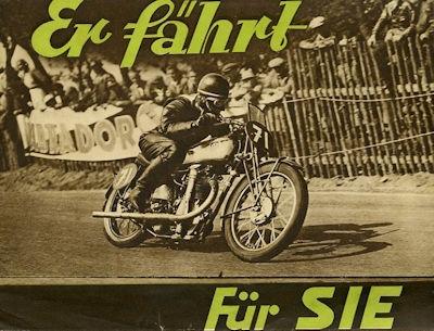 NSU Motorrad Programm 1936