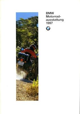 BMW Motorradausstattung Prospekt 1997