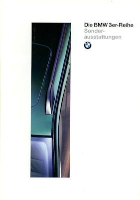 BMW 3er Sonderausstattung und Zubehör Prospekt 1996
