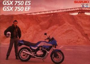 Suzuki GSX 750 ES/EF Prospekt 1984