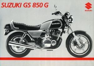 Suzuki GS 850 G Prospekt 1984
