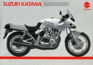 Suzuki Katana 750 / 1100 Prospekt 1984