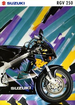 Suzuki RGV 250 Prospekt 1992