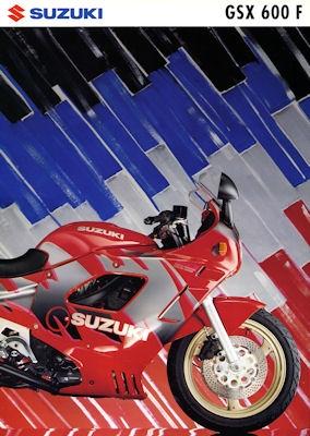 Suzuki GSX 600 F Prospekt 1992