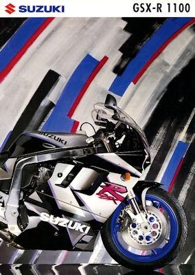 Suzuki GSX-R 1100 Prospekt 1992