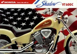 Honda VT 600 C Shadow Prospekt 1992