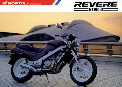 Honda NTV 650 Revere Prospekt 1991