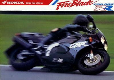 Honda CBR 900 RR Fire Blade Prospekt 1992
