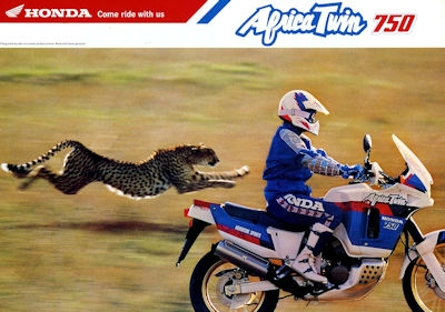 Honda African Twin 750 Prospekt 1992