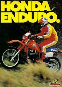Honda Enduro Programm 1985