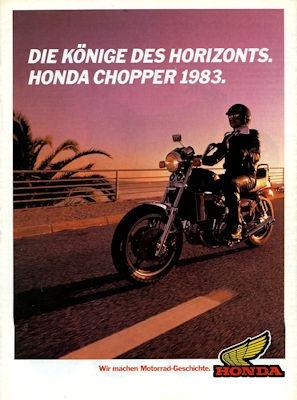 Honda Chopper Programm 1983