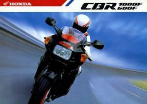 Honda CBR 600 F / 1000 F Prospekt 1987