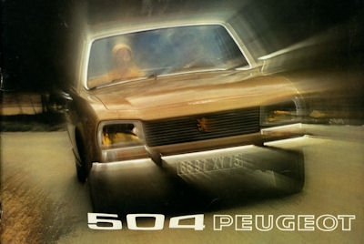 Peugeot 504 Prospekt 1973