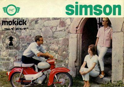 Simson Mokick Star SR 4-2 Prospekt 1964