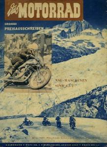 Das Motorrad 1949 Heft 1