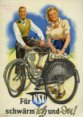 NSU Fahrrad Programm 1939