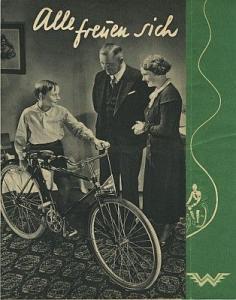 Wanderer Fahrrad Prospekt 11.1934