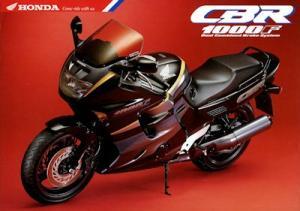 Honda CBR 1000 F Prospekt 1993