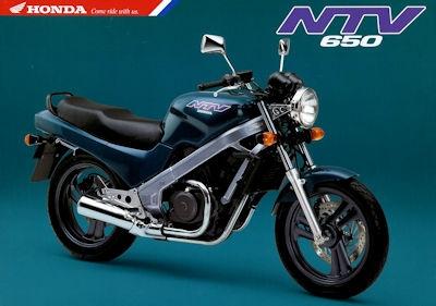 Honda NTV 650 Prospekt 1993