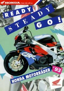 Honda Programm 1993