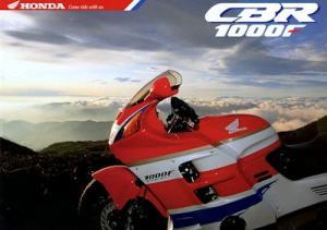 Honda CBR 1000 F Prospekt 1992