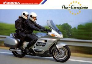 Honda Pan European Prospekt 1991