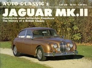 Jaguar MK. 2 Broschüre 1980er Jahre