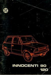 Innocenti 90 120 Bedienungsanleitung 8.1977